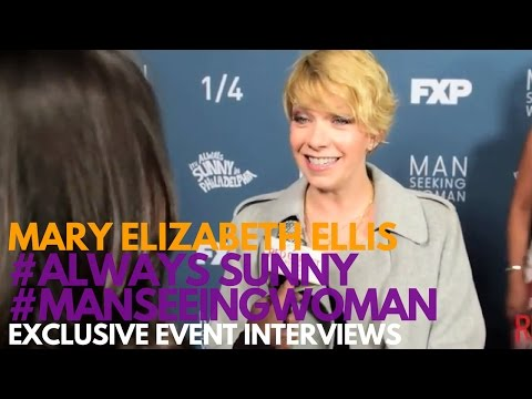 Mary Elizabeth Ellis at the FXX Premiere for It's Aways Sunny in Philadelphia Season 12