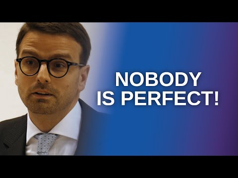 """Nobody is perfect"": Psychotherapie des Perfektionismus (Raphael M. Bonelli)"