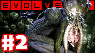 Evolve - Gameplay Walkthrough Part 2 - Evacuation! Hunters vs. Kraken Monster! (Evolve PC Gameplay)