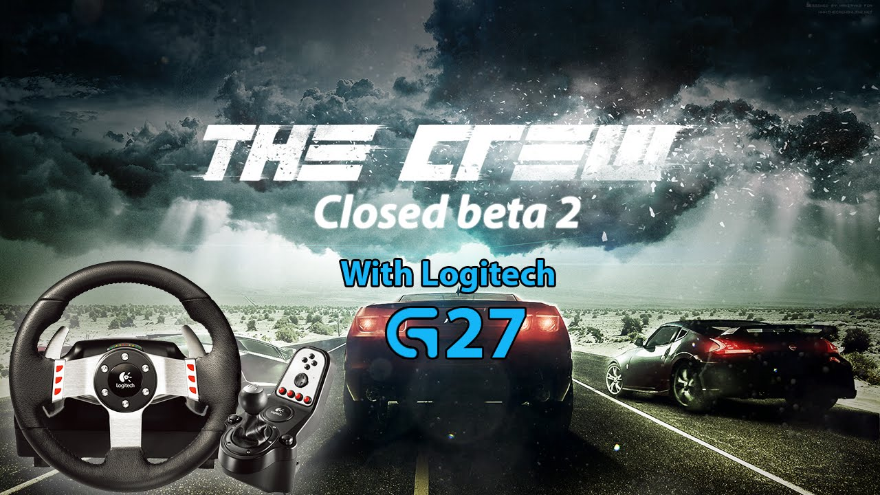 the crew beta 2 with logitech g27 youtube. Black Bedroom Furniture Sets. Home Design Ideas