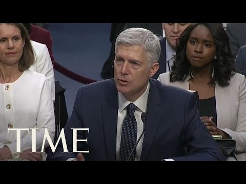 The Supreme Court Struck Down One Of Neil Gorsuch's Decisions During His Hearing | TIME