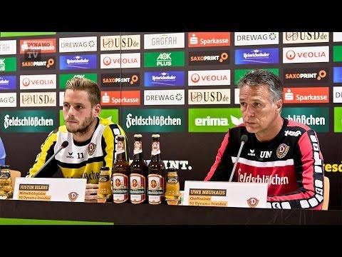 9. Spieltag | SGD - VFL | Pressekonferenz vor dem Spiel