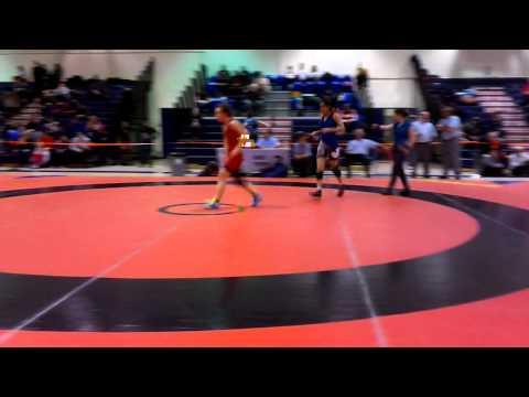 2014 Ontario Juvenile Championships: 46 kg Erica Turcotte vs. Gurleen Tak
