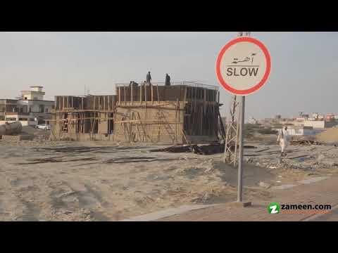 222 Sq Yd. COMMERCIAL PLOT FOR SALE IN MARINE DRIVE BACK NEW TOWN GWADAR