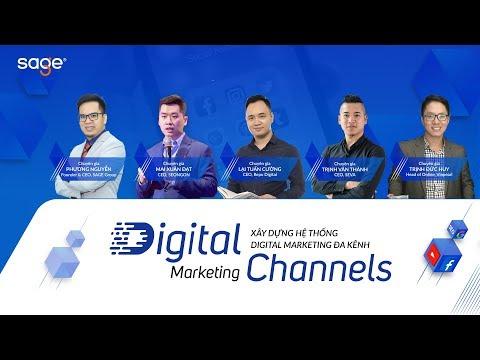 Khóa học Digital Marketing Channels - Xây dựng hệ thống Digital Marketing đa kênh | Sage Academy