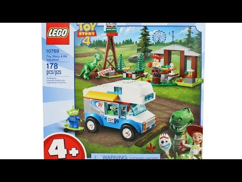 Lego Toy Story 4 RV Vacation Set Unboxing Toy Review