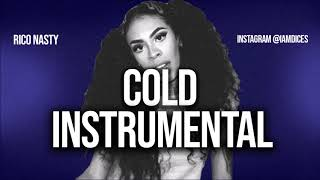 """Rico Nasty """"Cold"""" Instrumental Prod. by Dices *FREE DL*"""