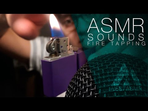 ASMR Tapping on fire! — Hello, 300 subs! Celebration ideas?