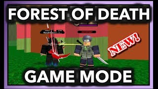 NEW GAME MODE GIANT FOREST OF DEATH|[040] TEAM BATTLE MODE!!|ROBLOX Naruto RPG- Beyond |