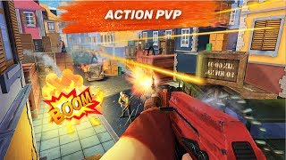 "Guns of Boom Android/IOS Gameplay+Review-""NEW MOBILE FPS GAME IN 2017"""