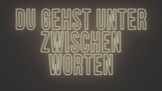 Die Sauna - Du gehst unter zwischen Worten (Official Video)(03/03/17 EP-RELEASE ⚡   ⚡   https://www.facebook.com/events/588794911325109/ ⚡   iTunes: http://apple.co/2fbwo2L Amazon: http://amzn.to/2e6vhNs ..., 2016-10-28T06:18:52.000Z)