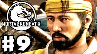 Mortal Kombat X - Gameplay Walkthrough Part 9 - Chapter 9: Scorpion (PC, PS4, Xbox One)