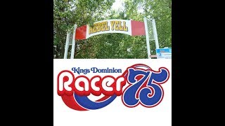 The Rebel Yell at Kings Dominion renamed Racer 75?