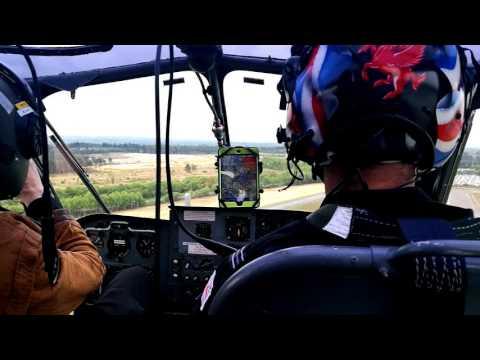 Army Historic Aircraft Flight Westland Scout AH Mk1 - XT626 (G-CIBW) VFR Blackbushe - Blackbushe