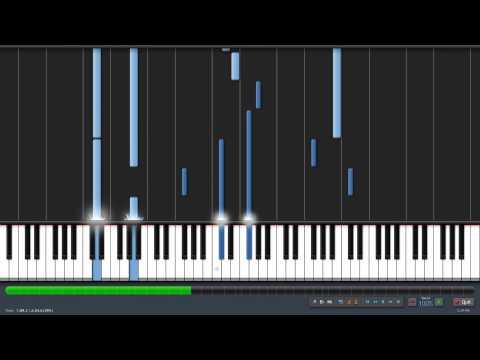 Lilium (.MIDI) - Elfen Lied (Synthesia+Link)