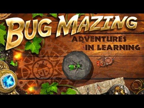 Bug Mazing Part 2 - best iPad app demo for kids