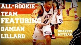 NBA2k13 | MyTeam Gameplay | All-Rookie Team