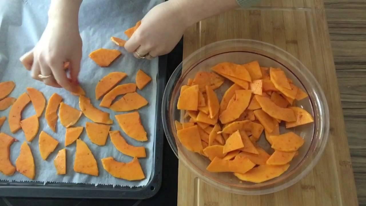 Rezepte kurbis chips