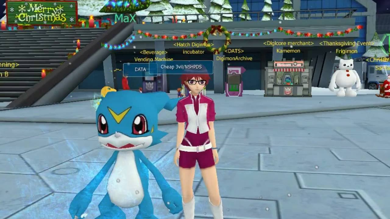 how to get veemon digimon masters online