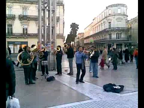 Music in the streets of Montpellier (France) vid1