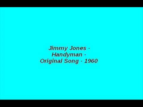 Jimmy Jones   Handyman   Original Song   1960