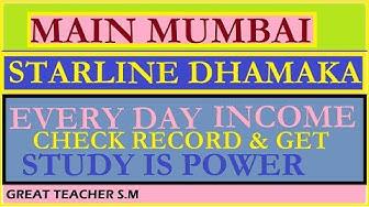 Main Mumbai Star Line Dhamaka By Great teacher S.M