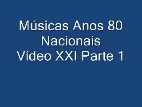MÚSICAS ANOS 80 NACIONAIS