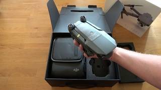 DJI Mavic Fly More Combo Package 'Unboxing' 4K