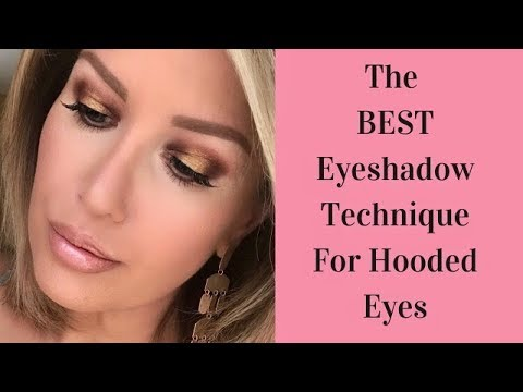 HOW TO: HALO/SPOTLIGHT MAKEUP TUTORIAL FOR HOODED EYES (Beginner Friendly!)