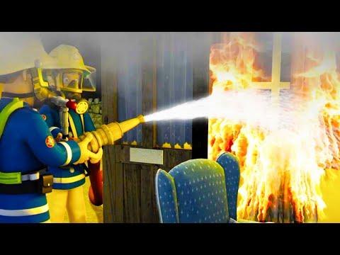 Brandweerman Sam Nederlands | Gestrand! | Reddingen Compilatie | Nieuwe Afleveringen