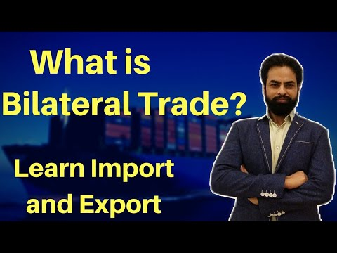 What is BILATERAL TRADE ?