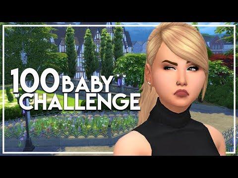 ALIEN BABIES // The Sims 4: 100 Baby Challenge #112
