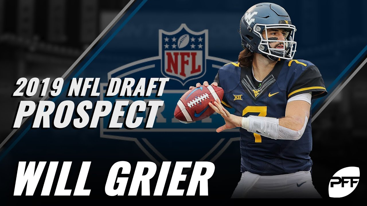 best authentic a0f9f 59c54 2019 NFL Draft prospect: Will Grier | PFF