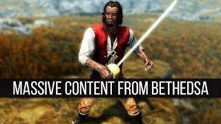 "Bethesda Is Adding ""Massive"" New Content into Skyrim"