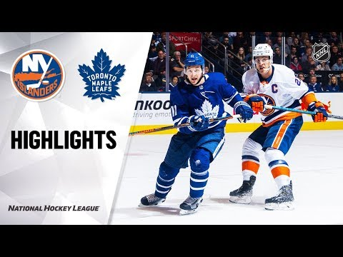 NHL Highlights | Islanders @ Maple Leafs 1/4/20