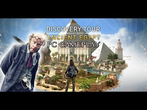 Assassins Creed Discovery Tour: Agent Egypt - First 40 Minutes (3 Tours Of Alexandria) [PC]