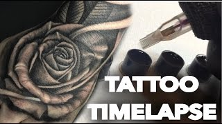 Video TATTOO TIME LAPSE | REALISTIC ROSE ON HAND AND SKULL ON FOREARM | CHRISSY LEE download MP3, 3GP, MP4, WEBM, AVI, FLV Juni 2018