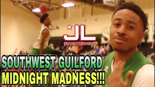 Southwest Guilford Basketball Midnight Madness!!!! | Exciting Scrimmage & Dunk Contest!!