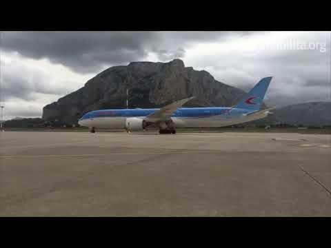Boeing 787 9 Neos Aeroporto di Palermo