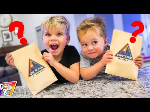 OPENING Top Secret MYSTERY PACKAGE from COYOTE PETERSON!