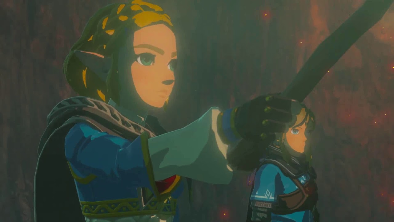 First 5 minutes of The Legend of Zelda: Breath of The Wild