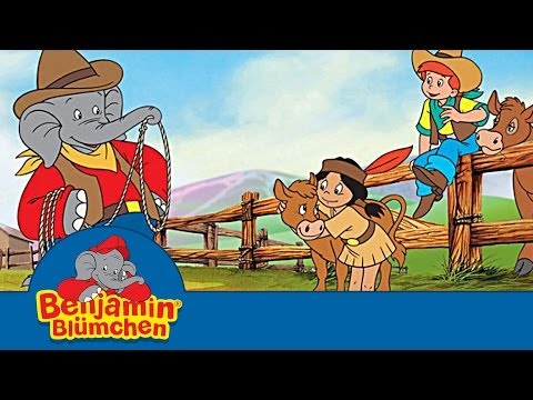 Benjamin Blümchen als Cowboy | 11 Minuten Episode