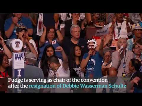 DNC chair booed by Bernie Sanders delegates