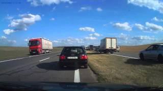 Авария на трассе Минск-Гомель