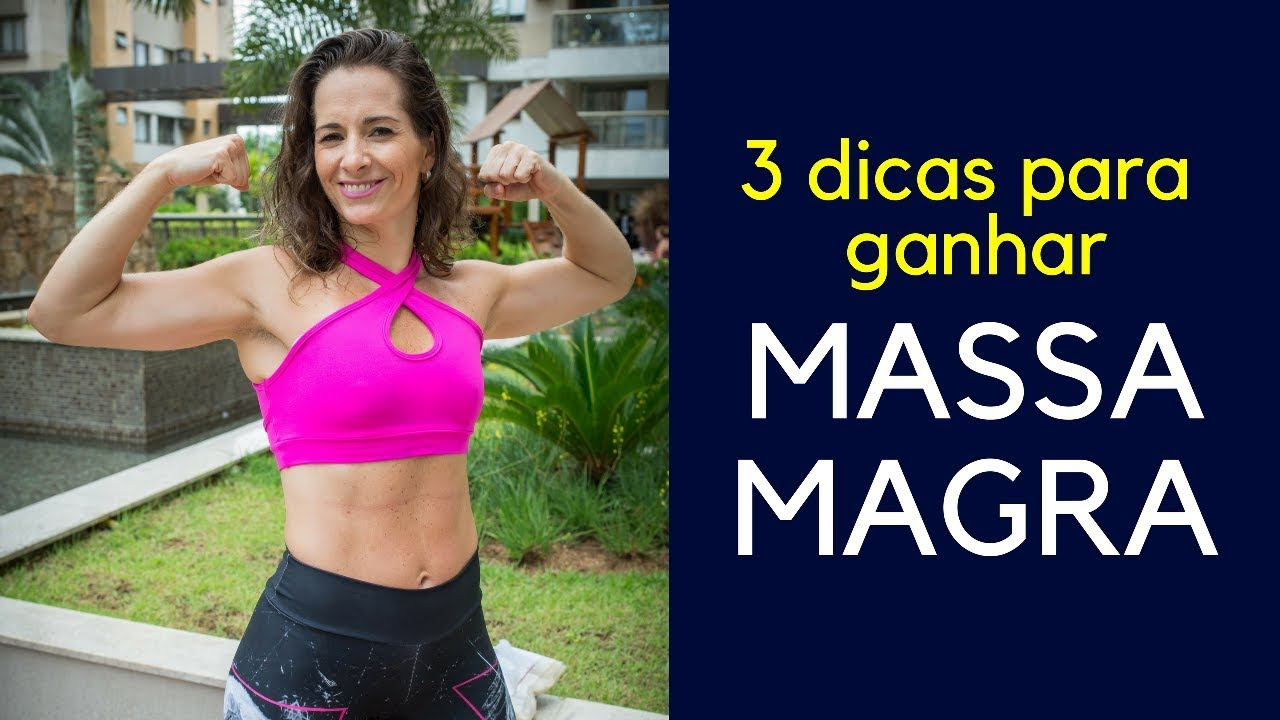 dieta para ganhar massa muscular magra e perder barriga