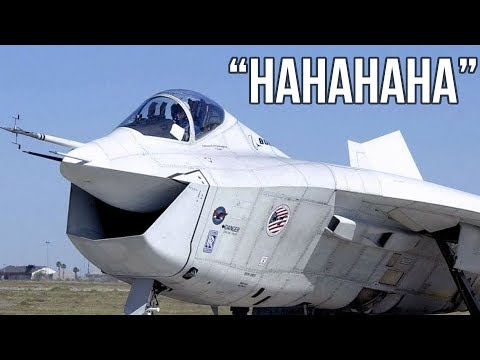 ✈ Boeing X-32 - The happiest aircraft in the world