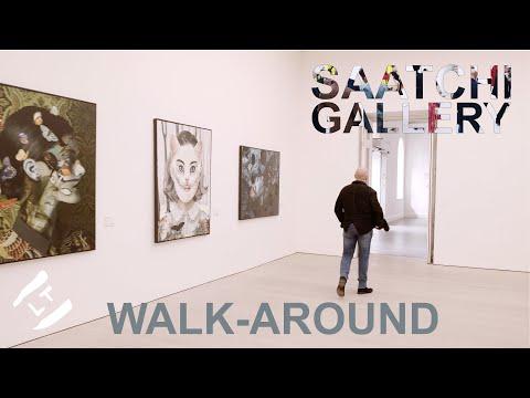 Saatchi Gallery Walk-around Tour   Art Fair 2019