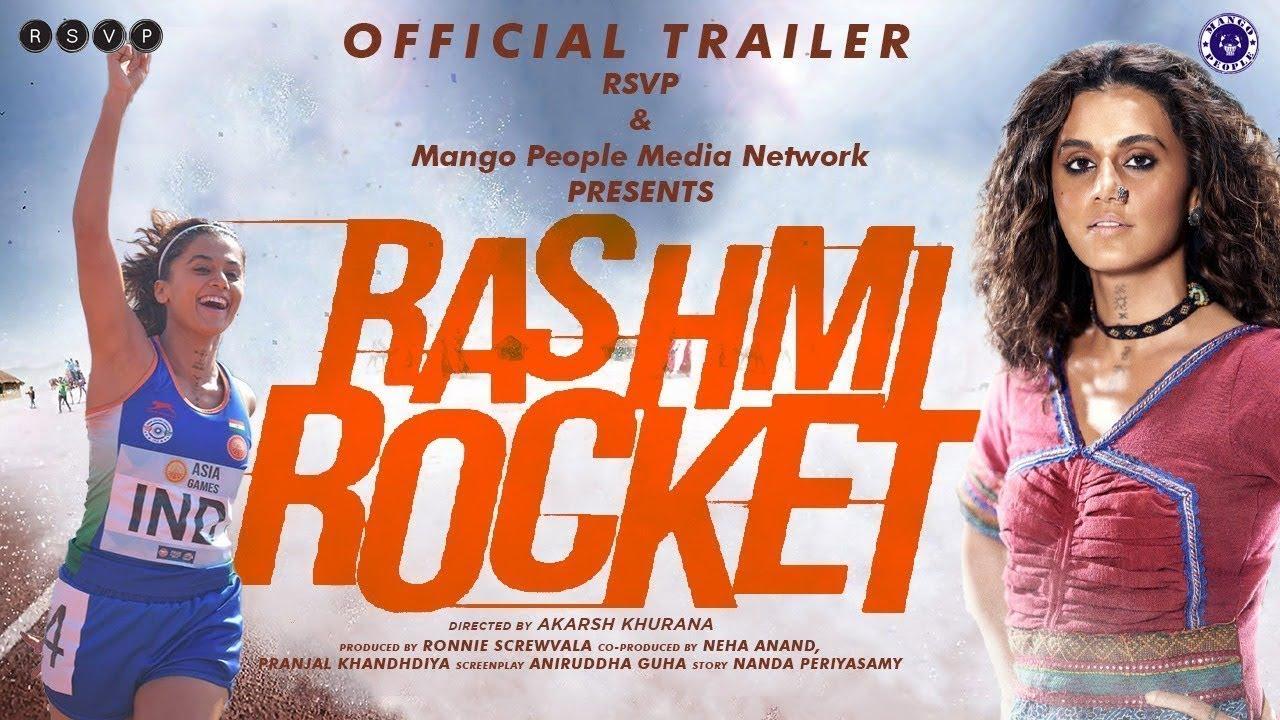 Rashmi Rocket – Tapsee – Official Trailer 2021