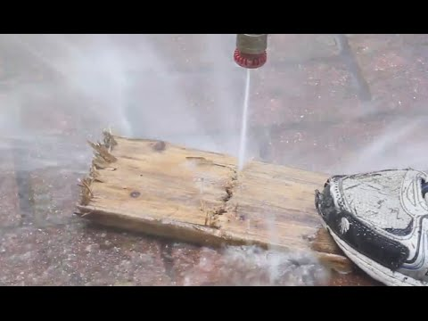 How to Cut Wood with Water