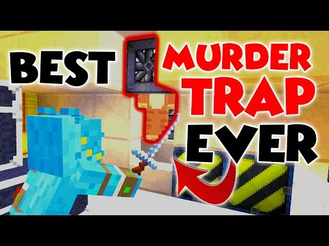 BEST MURDER TRAP EVER!! // HALL OF JUSTICE MURDER MYSTERY // MINECRAFT XBOX